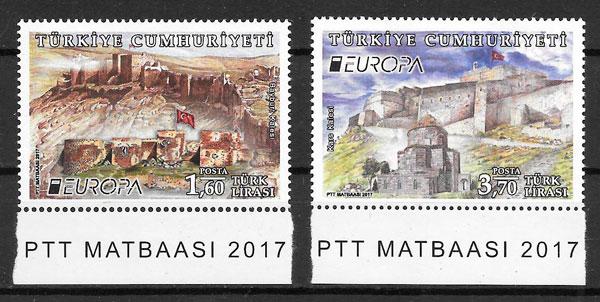 sellos Europa Turquía 2017