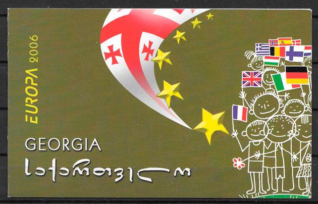 colección sellos Europa 2006 Georgia
