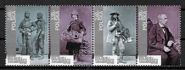 sellos arte Polonia 2018