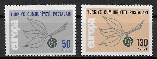 filatelia Europa Turquia 1965