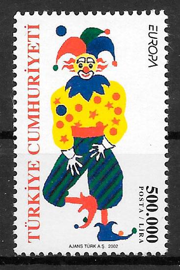 filatelia Europa Turquia 2002