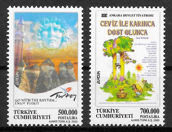 filatelia Europa Turquia 2003