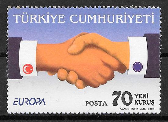 filatelia Europa Turquia 2006