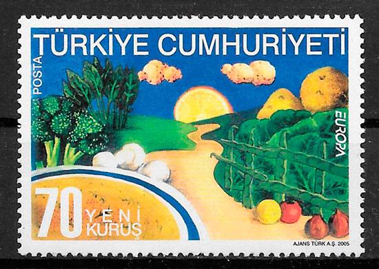 filatelia Europa Turquia 2005