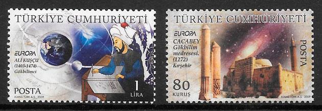 sellos Europa Turquia 2009