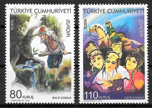 sellos Europa Turquia 2010