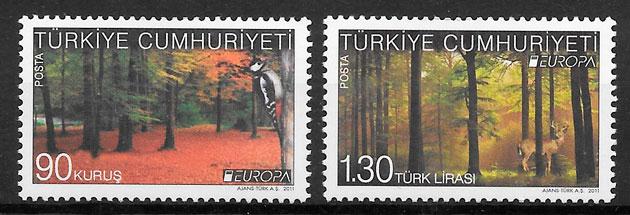 sellos Europa Turquia 2011