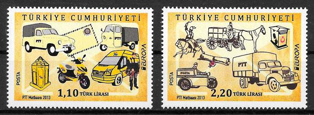 sellos Europa Turquia 2013