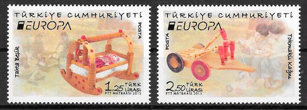 sellos Europa Turquia 2015