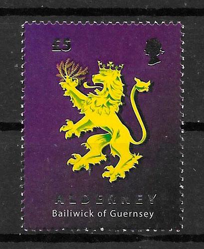 sellos temas varios Alderney 2008
