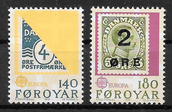 colección sellos Europa 1979