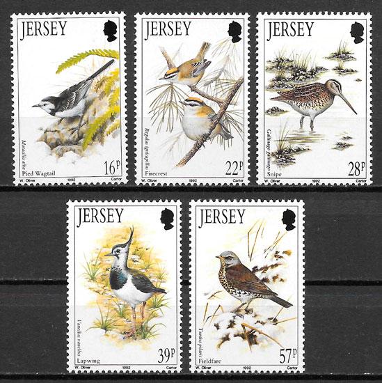 selos fauna Jersey 1992