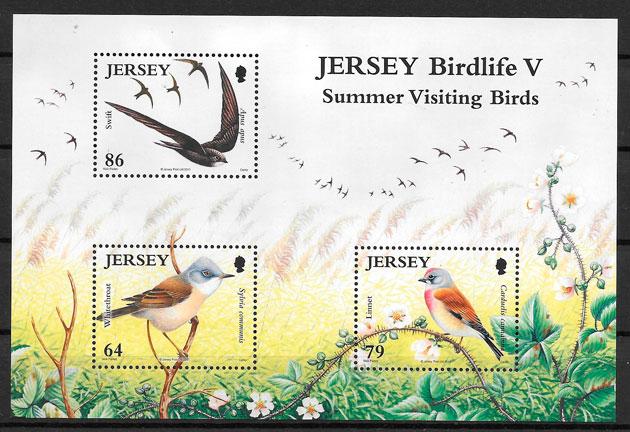 sellos fauna Jersey 2011