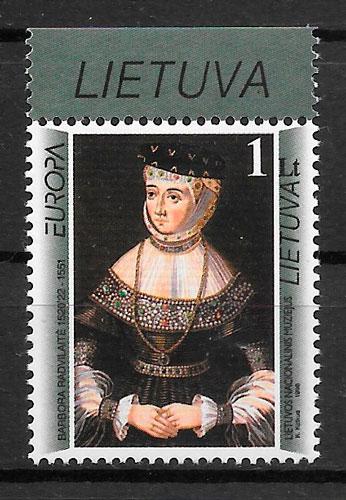 filatelia Europa Lituania 1996