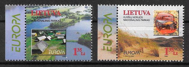 filatelia Europa Lituania 1999