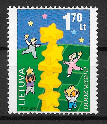 filtelia colección Europa Lituania 2000