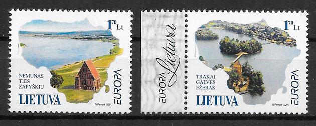 filtelia colección Europa Lituania 2001