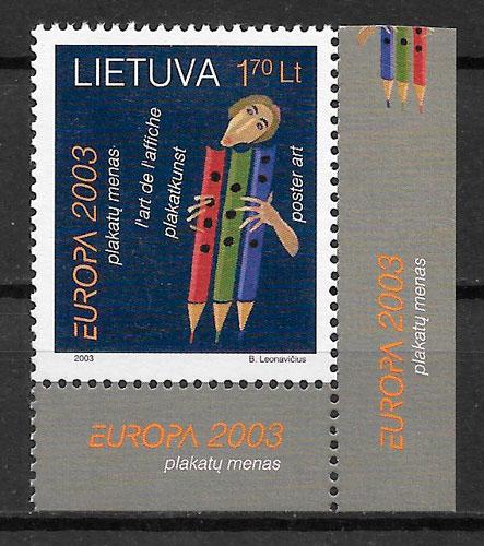 filtelia colección Europa Lituania 2003