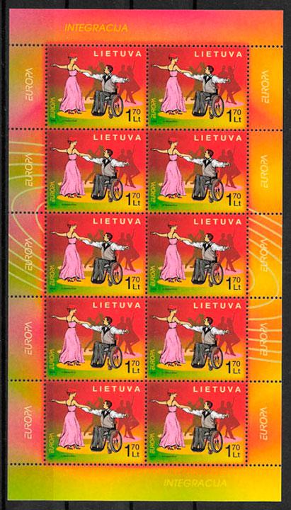 sellos Europa Lituania 2006