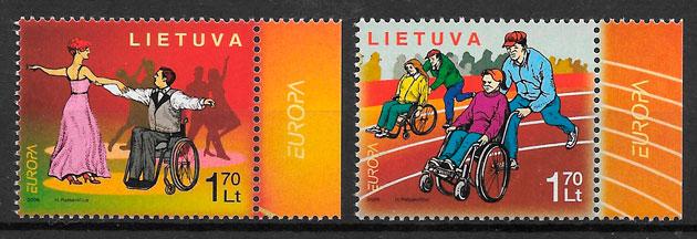 colección sellos Europa Lituania 2006