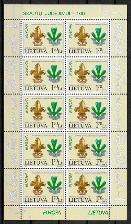 sellos Europa Lituania 2007
