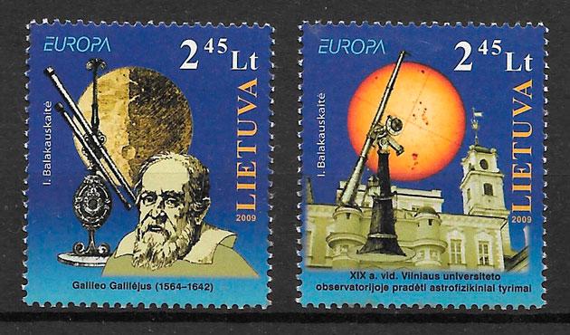 sellos Europa Lituania 2009