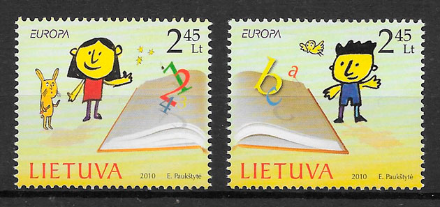 sellos Europa Lituania 2010