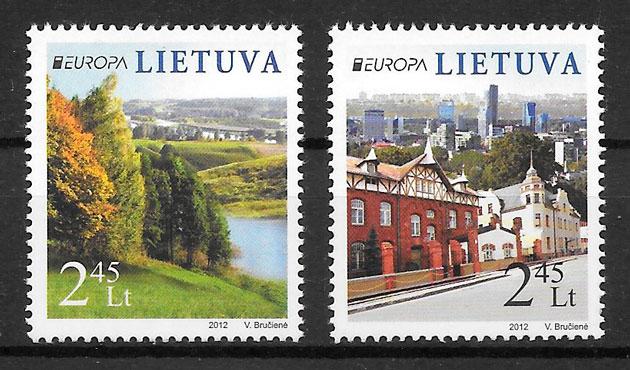 filatelia Europa Lituania 2012