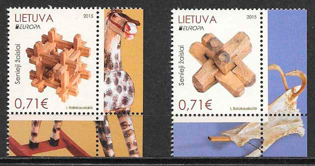filatelia Europa Lituania 2015