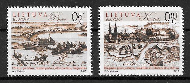 sellos Europa Lituania 2017