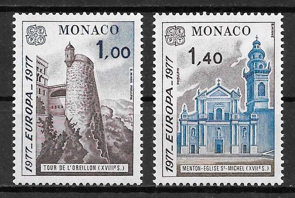 coleccion sellos Monaco Europa 1978