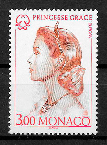 filatelia Europa Monaco 1996