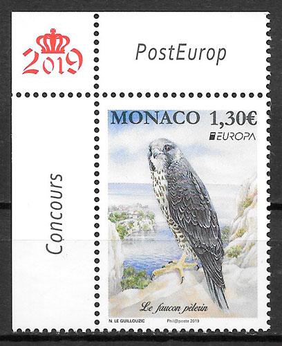 filatelia Europa 2019 Monaco