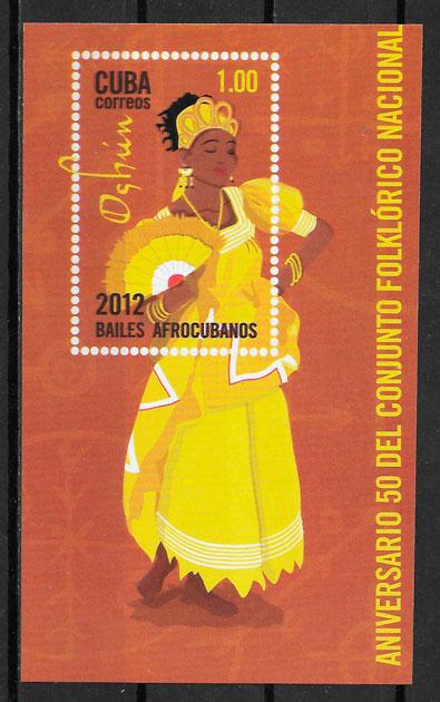 sellos arte Cuba 2012