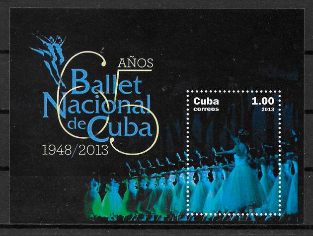 filatelia colección arte Cuba 2013