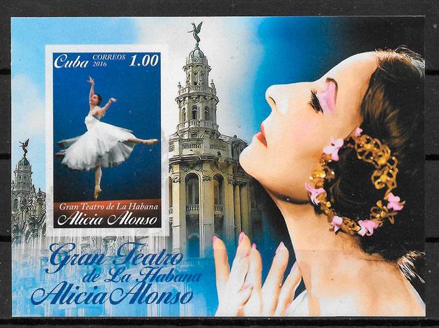 filatelia colección arte Cuba 2016