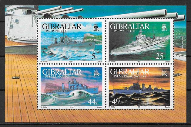 sellos transporte 1994 Gibraltar