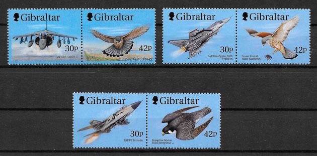 sellos transporte Gibraltar 1999