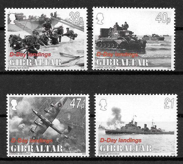 sellos transporte Gibraltar 2004