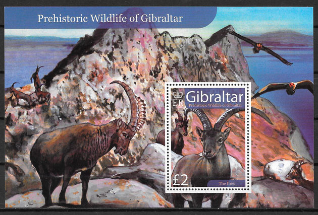 filatelia fauna Gibraltar 2007