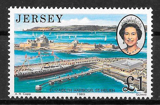 sellos transporte Jersey 1989
