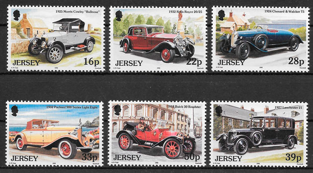 sellos transporte Jersey 1992