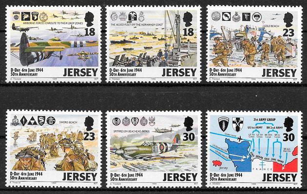 sellos transporte Jersey 1994