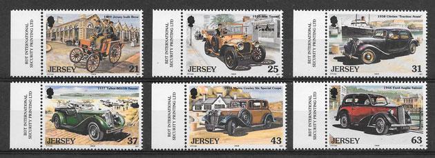 sellos transporte Jersey 1999