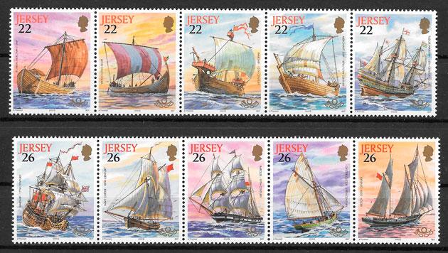 sellos transporte Jersey 2000
