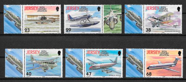 sellos transporte Jersey 2003