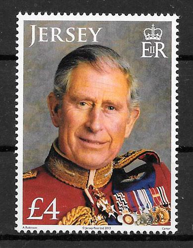colección sellos personalidad Jersey 2013