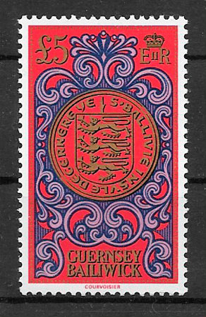 colección sellos temas varios Guernsey 1981