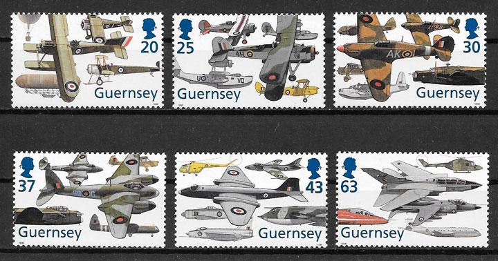 sellos transporte Guernsey 1998