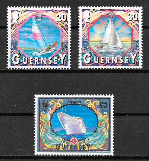 sellos transporte Guensey 2000